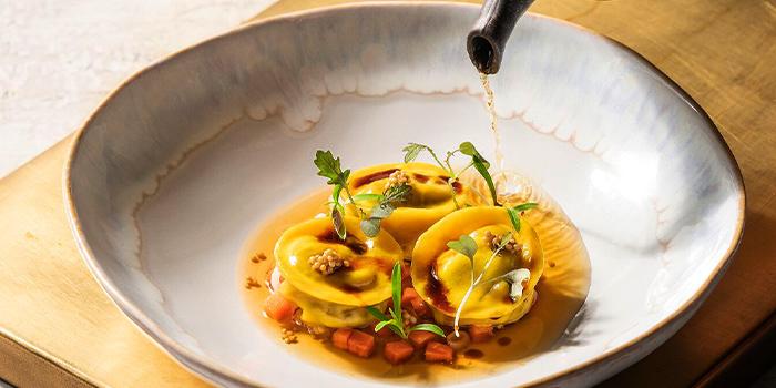 Handmade Tortellini from Riviera Forlino in One Fullerton in Raffles Place, Singapore