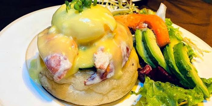 Fresh Lobster Eggs Benedict, Off Town Kitchen, Sai Ying Pun, Hong Kong