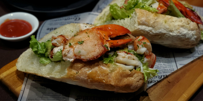 Fresh Lobster with Avocado and Baguette Roll, Off Town Kitchen, Sai Ying Pun, Hong Kong
