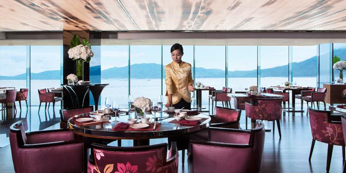 Main Hall, Man Ho Chinese Restaurant, Chek Lap Kok, Hong Kong