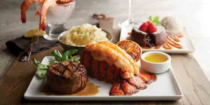 Steak and Seafood Menu, Morton
