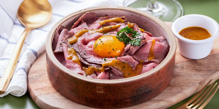 Roast beef Japanese rice, Acquasala, Central, Hong Kong