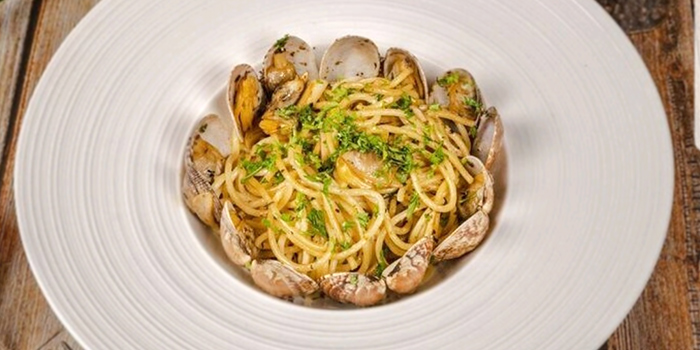 Vongole Pasta from Grill Ninety Nine in Bugis, Singapore