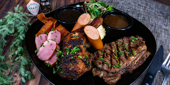 Le Butchers Plate from Grill Ninety Nine in Bugis, Singapore