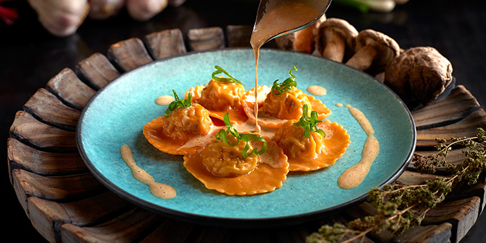 Signature Set Ravioli from the Cliff in Sentosa, Singapore