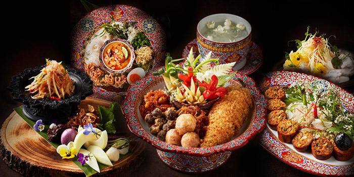 Selection of Food from R-HAAN at 131 Soi Sukhumvit 53 (Paidee-Madee) Klongtun Nua, Wattana Bangkok