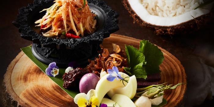 Selection of Food with Pork from R-HAAN at 131 Soi Sukhumvit 53 (Paidee-Madee) Klongtun Nua, Wattana Bangkok