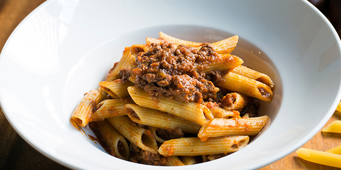 Penne Bolognese from Baci Baci in Serangoon, Singapore