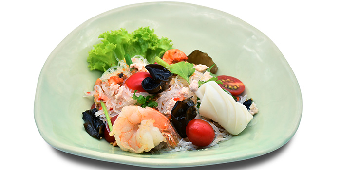 Glass Noodle Salad with Seafood and Minced Chicken  from Thai Accent at VivoCity in Habourfront, Singapore