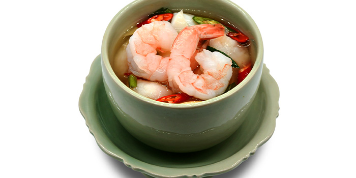 Clear Base Tom Yam Seafood Soup (Individual Soup)  from Thai Accent at VivoCity in Habourfront, Singapore