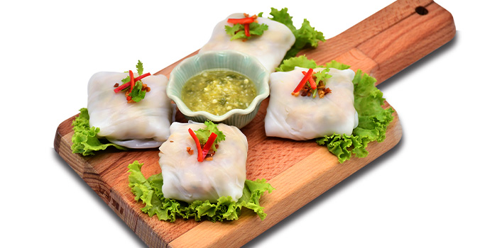Minced Chicken Wraps  from Thai Accent at VivoCity in Habourfront, Singapore