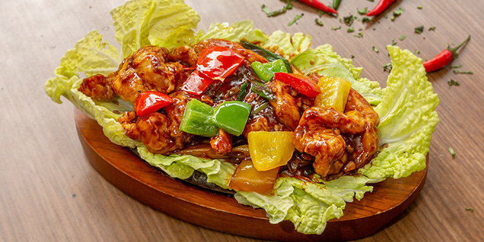 Indian Chinese Sizzler from 79 After Dark in Boat Quay, Singapore