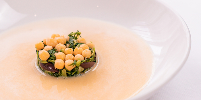 Chickpeas Soup from Tablescape Restaurant & Bar at Grand Park City Hall in City Hall, Singapore