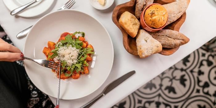 Gnocchi, Pomodoro and Mozzarella from Tablescape Restaurant & Bar at Grand Park City Hall in City Hall, Singapore