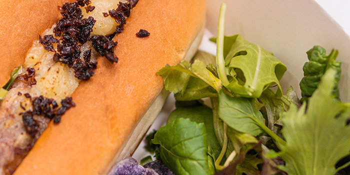Kale Hotdog from Tablescape Restaurant & Bar at Grand Park City Hall in City Hall, Singapore