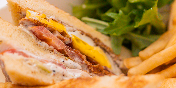 Club Sandwich from Tablescape Restaurant & Bar at Grand Park City Hall in City Hall, Singapore