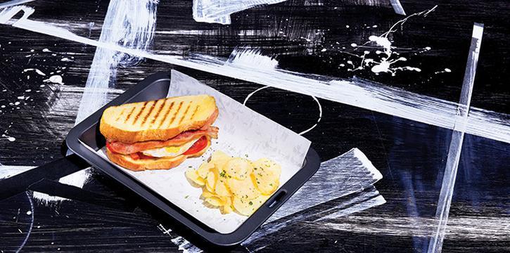 Bacon and Egg Panini, Greyhound Cafè, Tseung Kwan O, Hong Kong