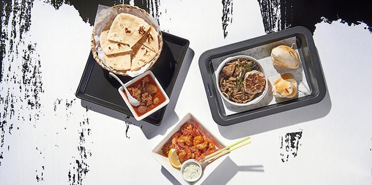 Beef Massaman Curry with Mixed-Mushroom and Aromatic Shrimps, Greyhound Cafè, Tseung Kwan O, Hong Kong
