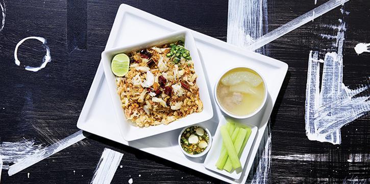 Crab Meat Fried Rice, Greyhound Cafè, Tseung Kwan O, Hong Kong