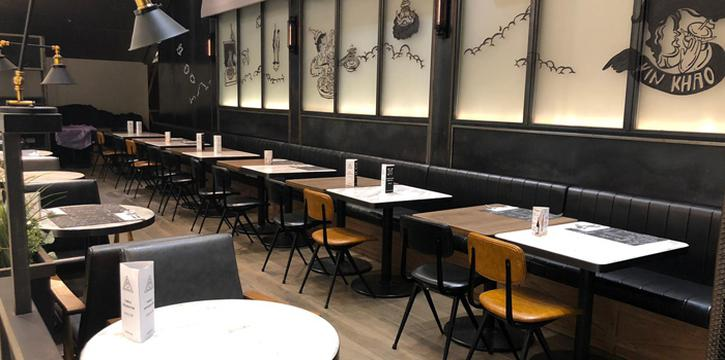 Outside Seats, Greyhound Cafè, Tseung Kwan O, Hong Kong