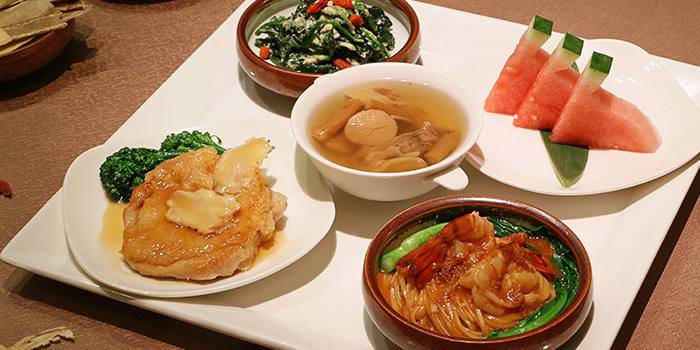 Bento Chicken from Hua Ting at Orchard Hotel Singapore in Orchard, Singapore