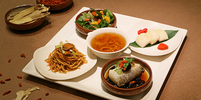Bento Fish from Hua Ting at Orchard Hotel Singapore in Orchard, Singapore