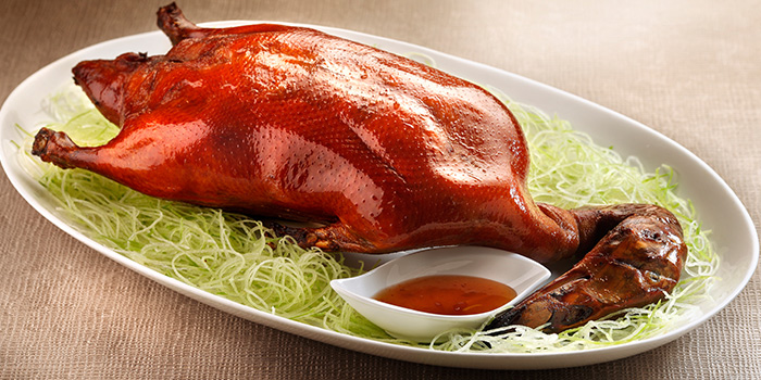 Signature Crispy Roasted Duck from Hua Ting at Orchard Hotel Singapore in Orchard, Singapore