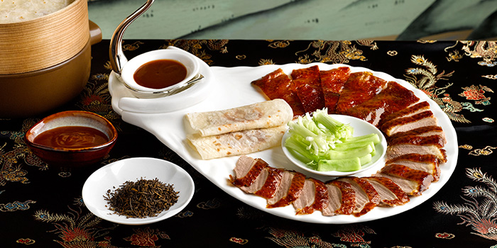 Peking Duck from Hua Ting at Orchard Hotel Singapore in Orchard, Singapore