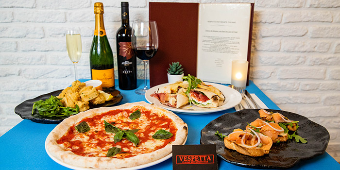 Vespetta Italian Restaurant food delivery in singapore delivery in Singapore