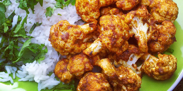 Tandoori Cauliflower, Royal Indian Curry House, Tin Hau, Hong Kong