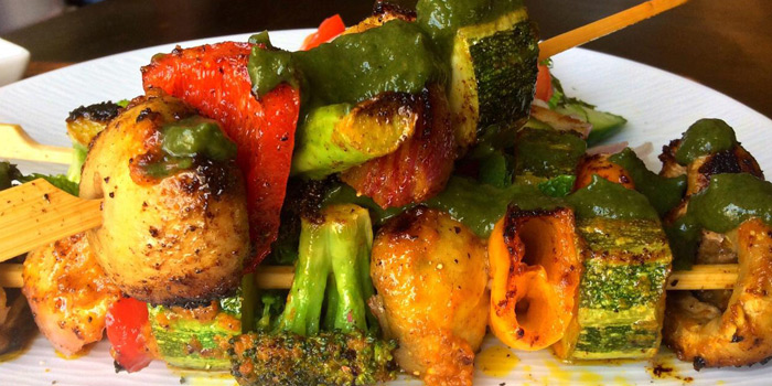 Grilled Vegetable, Royal Indian Curry House, Tin Hau, Hong Kong