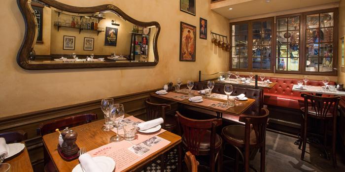 Interior, Bouchon Bistro Francais, Soho, Central, Hong Kong