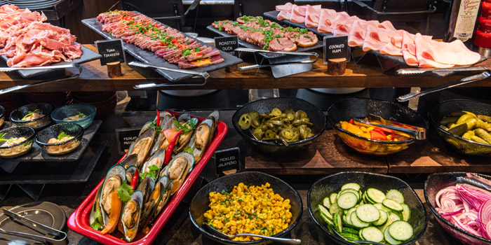 Buffet Table, Braza Churrascaria Brazilian Steakhouse, Central, Hong Kong