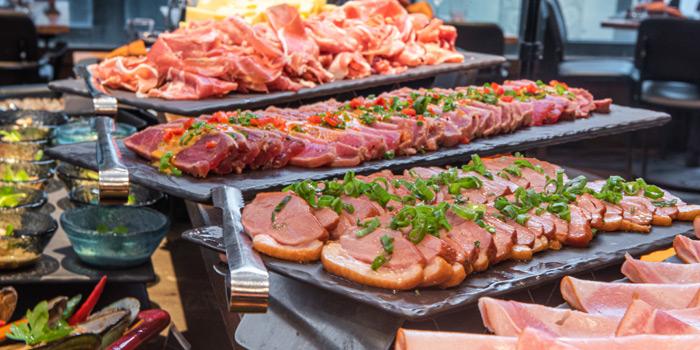 Buffet, Braza Churrascaria Brazilian Steakhouse, Central, Hong Kong