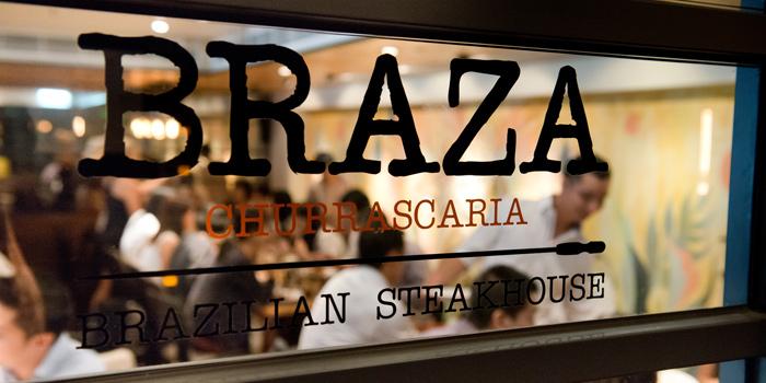 Shop Front, Braza Churrascaria Brazilian Steakhouse, Central, Hong Kong