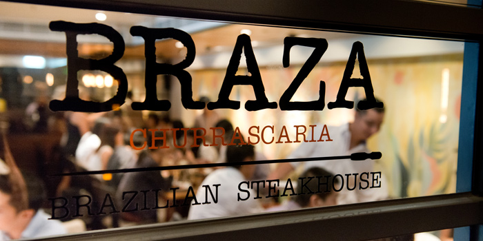Shop Front, Braza Churrascaria Brazilian Steakhouse, Central, Hong Kong