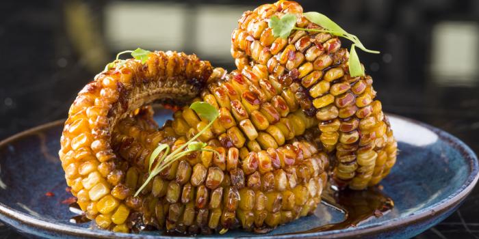 Corn Ribs, Duck & Waffle, Central, Hong Kong