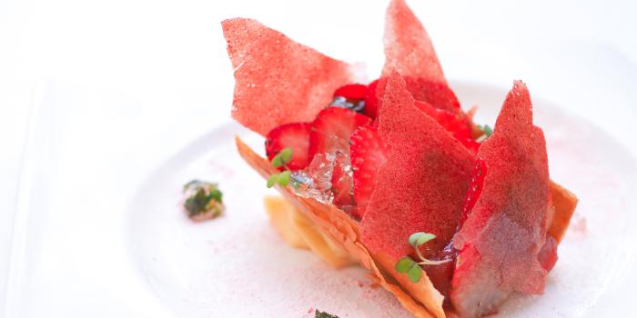 Strawberry & Shiso Tart, Umami, Cyberport, Hong Kong