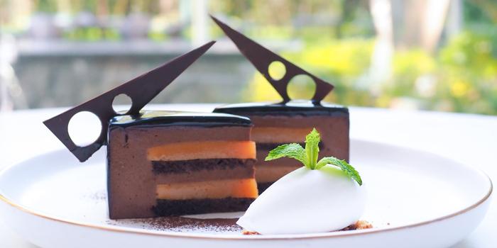 Chocolate, Caramel And Passionfruit Cake, Umami, Cyberport, Hong Kong