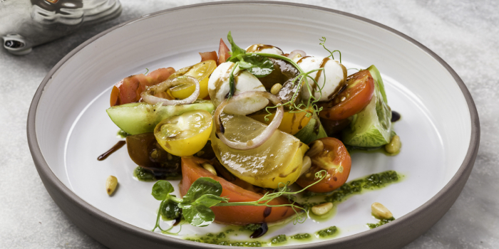 Heritage Tomato Salad, Dear Lilly, Central, Hong Kong