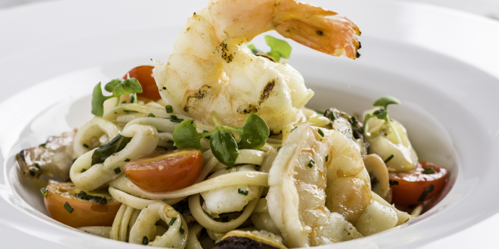 Seafood Linguine, Dear Lilly, Central, Hong Kong