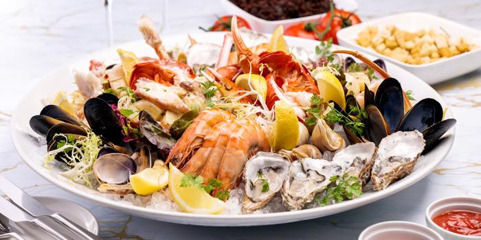 Seafood Platter, VELO Italian Bar & Grill, Tsim Sha Tsui, Hong Kong