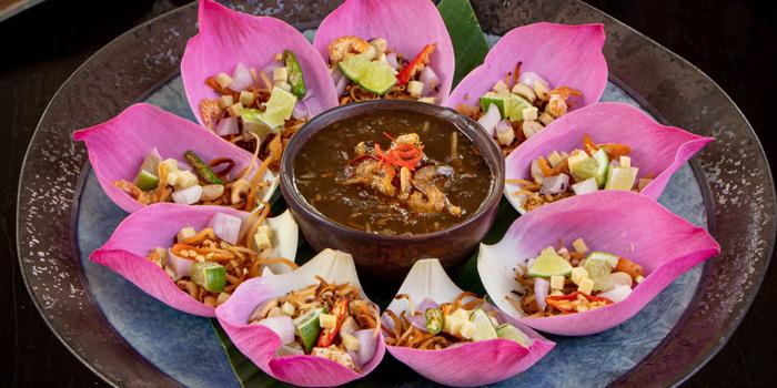 Appetizer Dishes from Ruen Noppagao at 27 Soi Piphat North Sathorn Road, Silom Bang Rad, Bangkok