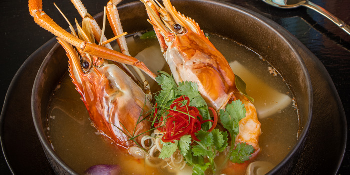Tom Yum Soup from Ruen Noppagao at 27 Soi Piphat North Sathorn Road, Silom Bang Rad, Bangkok
