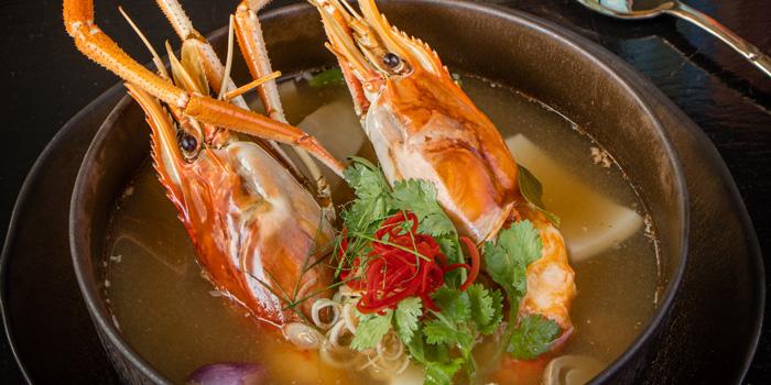 Tom Yum Soup from Ruen Noppagao at 27 Soi Piphat North Sathorn Road, Silom Bang Rad, Bangkok