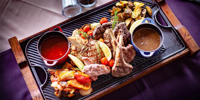 Food from Bodega & Grill in Bangtao, Phuket, Thailand.
