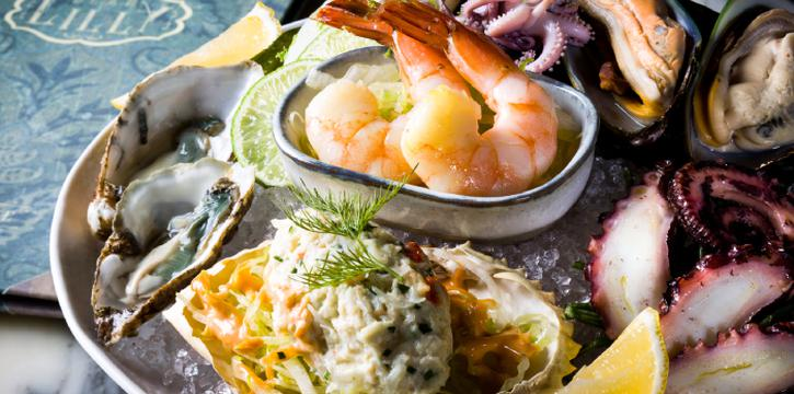 Seafood Platter, Dear Lilly, Central, Hong Kong