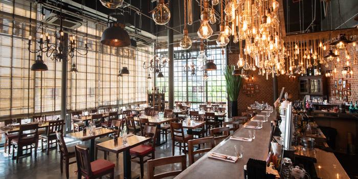 The Dining Room of El Gaucho Argentinian Steakhouse at 87 Langsuan Road Unit B101 Velaa Sindhorn Village, Lumpini Bangkok