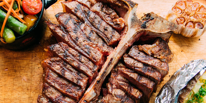 Porterhouse Steak from El Gaucho Argentinian Steakhouse at 87 Langsuan Road Unit B101 Velaa Sindhorn Village, Lumpini Bangkok