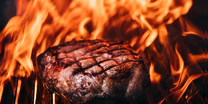 Rib Eye Steak from El Gaucho Argentinian Steakhouse at 87 Langsuan Road Unit B101 Velaa Sindhorn Village, Lumpini Bangkok